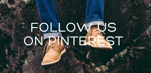 Follow us on Pinterest and Social Media