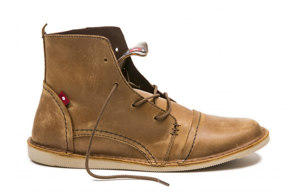 LALLO Rustic Brown Pullup