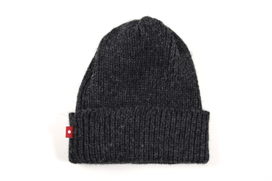 Knitted Toque Charcoal